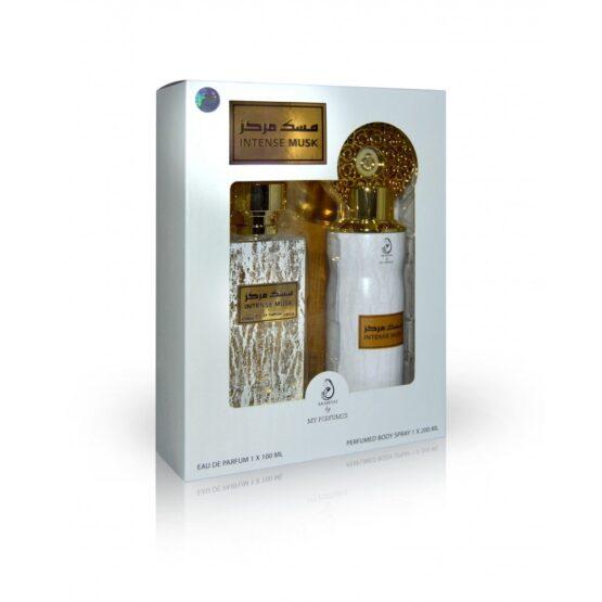 Intense Musk Parfum/Deo set