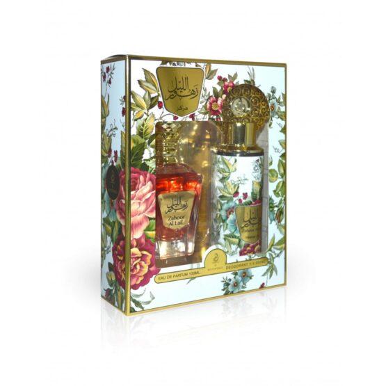 Zahoor Al Lail Intense Parfum/Deo set