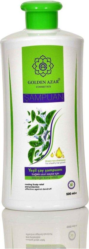 Golden Azar Green Tea Shampoo