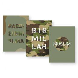 Schriften A5 - Army Print