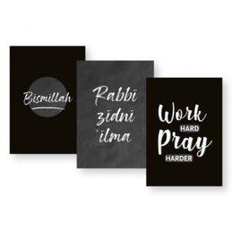 Schriften A5 - Islamprint Zwart