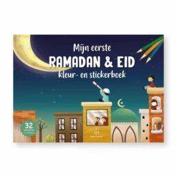 Boek: Mijn eerste Ramadan & Eid Kleur-en Stickerboek