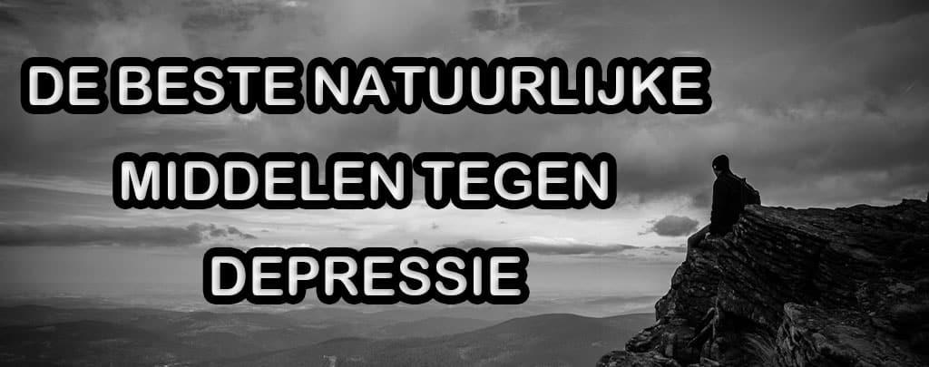 De beste natuurlijke middelen tegen depressie